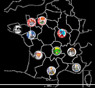 Carte regions 1